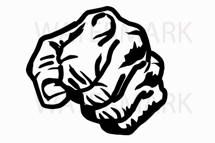 Fist Power Punch Svg Jpg Png Hand Drawing 65852 Illustrations Design Bundles