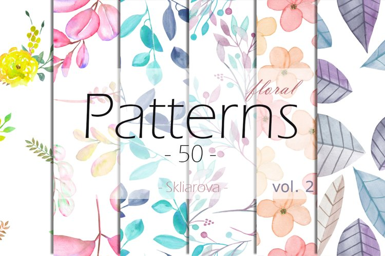 floral Patterns 50, vol. 2 example image 1