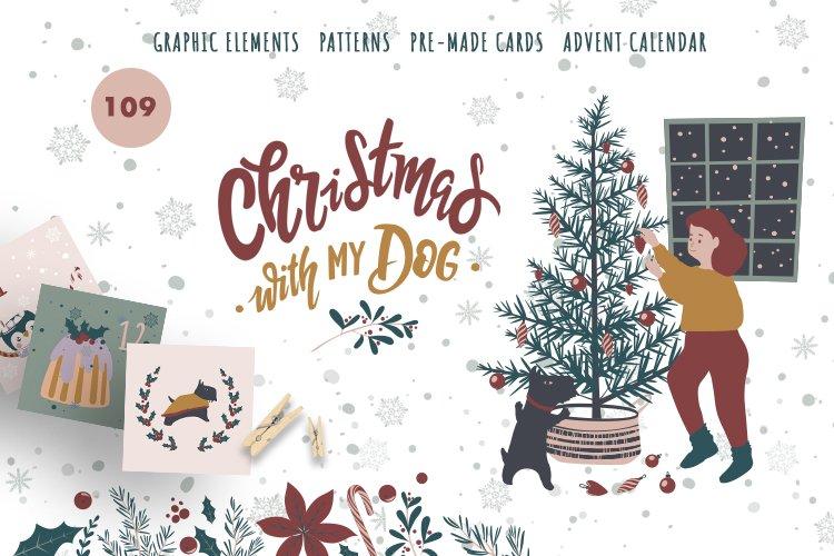Christmas with my dog example image 1