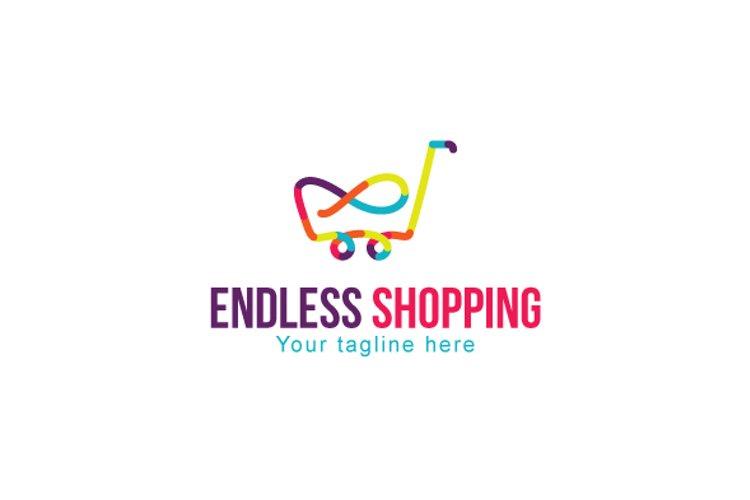 Endless Shopping - Infinity Symbol Linear Stock Logo example image 1