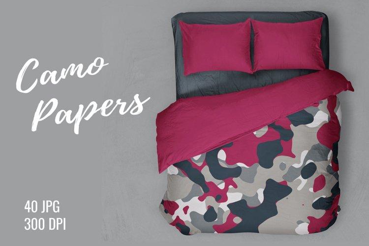 40 Alternative Camouflage Paper Designs
