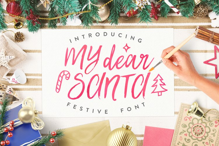 Best Christmas Font BIG UPDATE example image 1