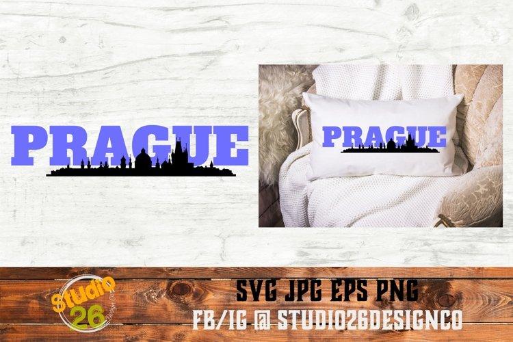 Prague Landmarks - SVG PNG EPS example image 1