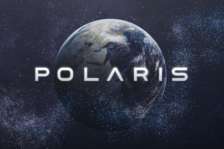 Polaris - Futuristic Font example image 1