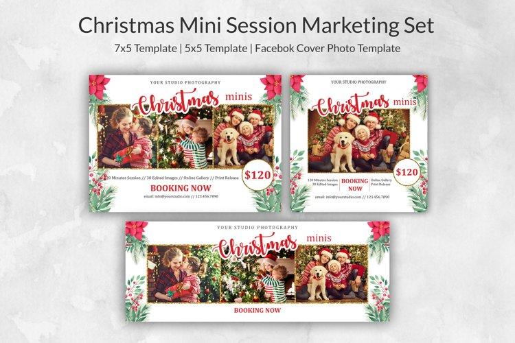 Christmas Mini Session Marketing Set example image 1