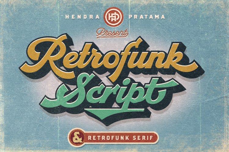 Retrofunk - Script & Serif