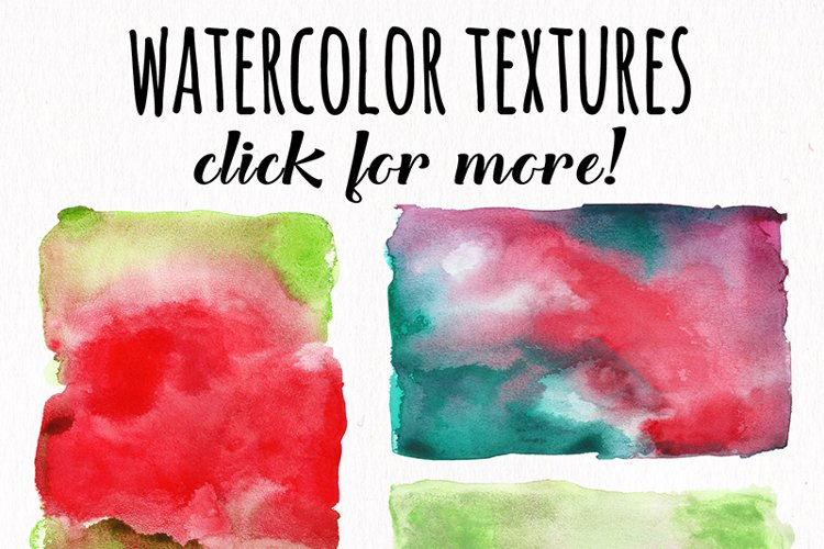 Watercolor Textures - card edition - Free Design of The Week Design16