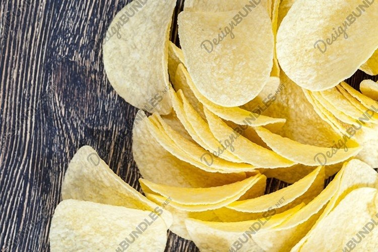 potato chips, close up example image 1