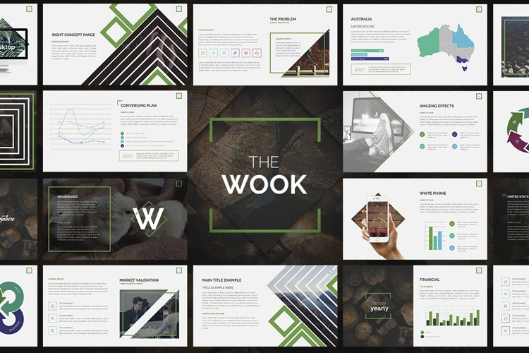 Wook Powerpoint Presentation example image 1
