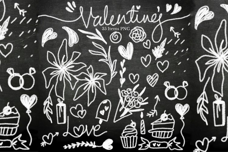 Valentines Chalk Board-Mini Bundle