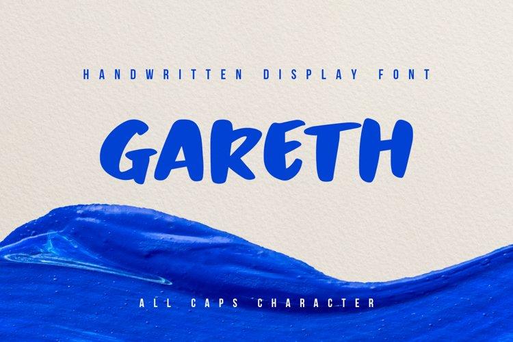 Gareth - Handwritten Display Font