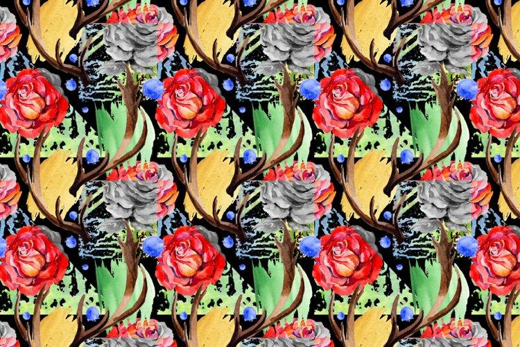 Roses PNG watercolor flower set - Free Design of The Week Design3