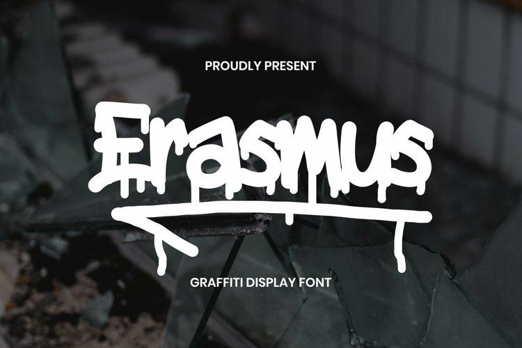 Web Font Erasmus Font example image 1