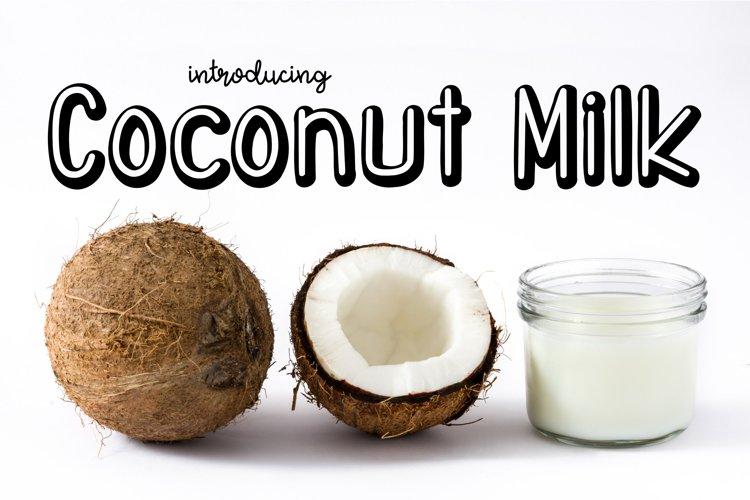 Coconut Milk example image 1