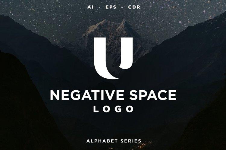 26 Negative Space Logo - Alphabet Series AI EPS CDR PDF