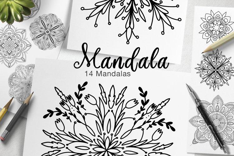 Mandala Collection. Coloring Book