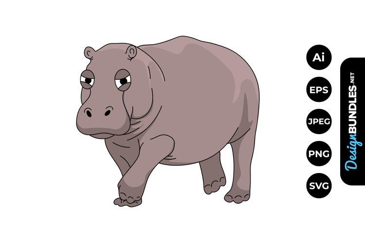 Hippopotamus Clipart example image 1