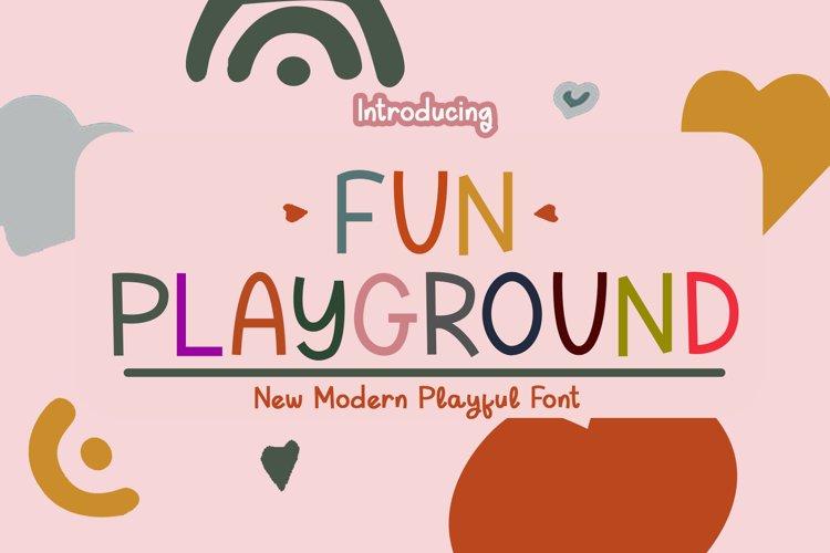 Fun Playground example image 1