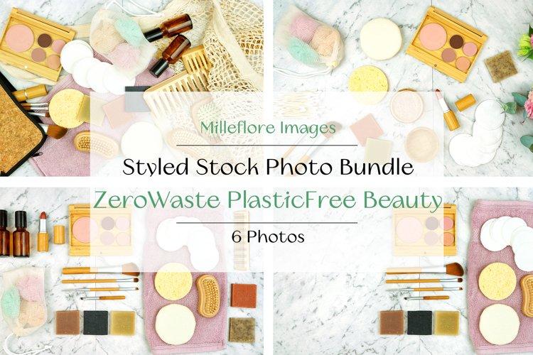 Zero Waste Plastic Free Beauty Styled Stock Photo Bundle