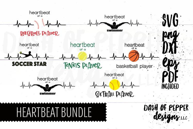 Heartbeat Sports Bundle - A Multi Sport SVG
