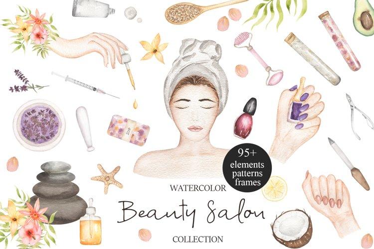 Watercolor Beauty Salon Collection
