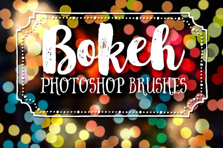 Bokeh Photography Photoshop Brushes example image 1