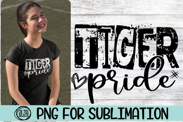 TIGER Pride - PNG for Sublimation example image 1