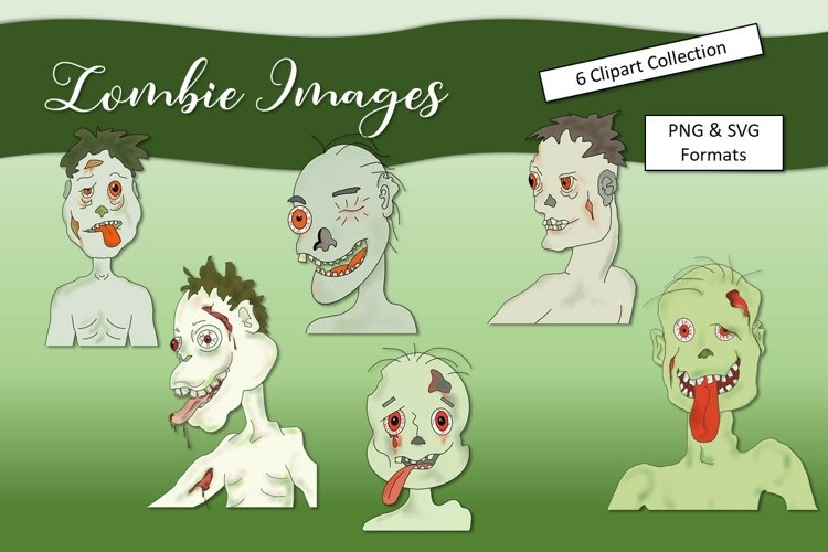 Funny Zombie Clipart Image Collection