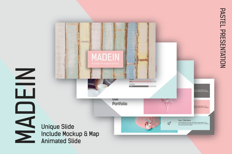 Madein Powerpoint Template example image 1