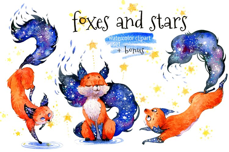 Foxes and Stars example image 1