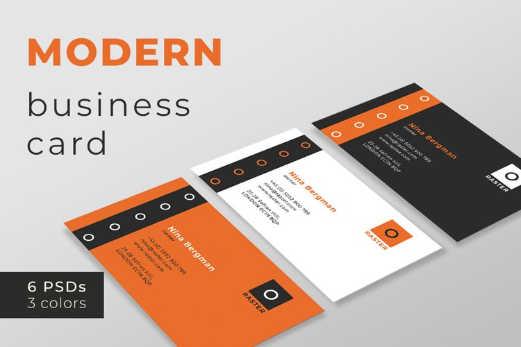 Modern Business Card Templates example image 1