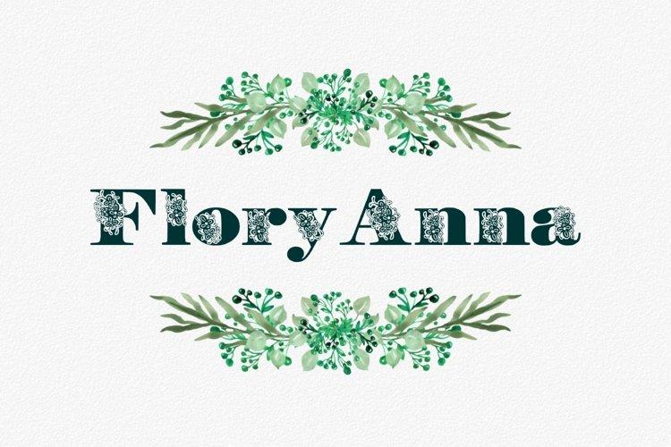 FloryAnna Font example image 1