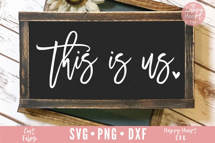 This Is Us SVG example image 1