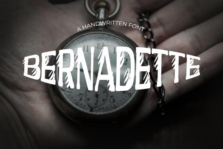 Bernadette Vintage Font example image 1