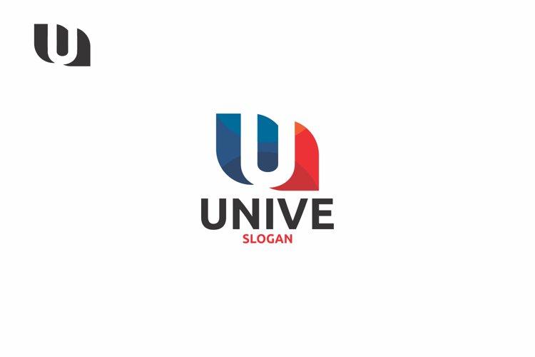 U Letter Logo