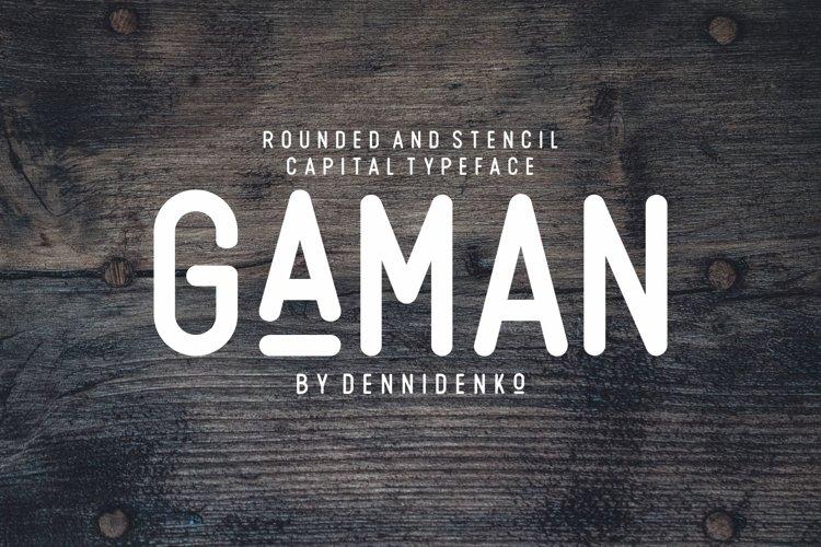 GAMAN example image 1