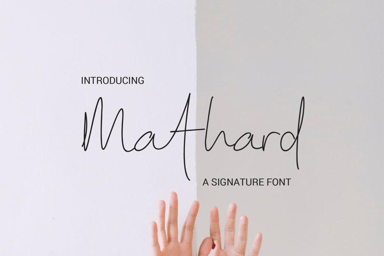 Mathard example image 1