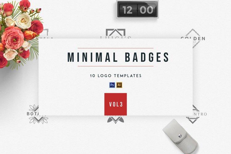 Minimal Badges | vol.3 example image 1