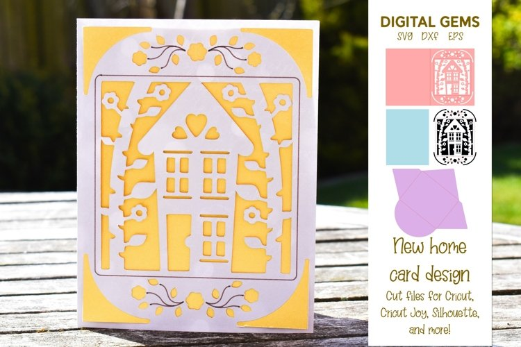 Cricut Joy Card! New home, Housewarming design!