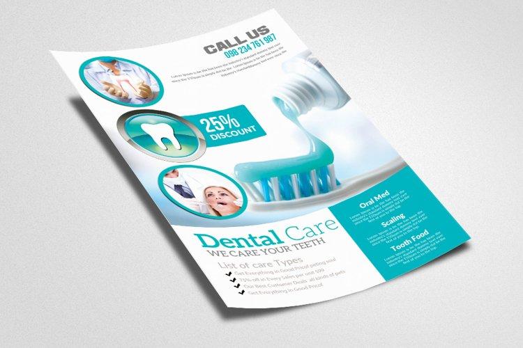 Medical Dental Care Flyer example image 1
