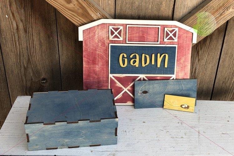 Barn/Farm Theme Milestone Set