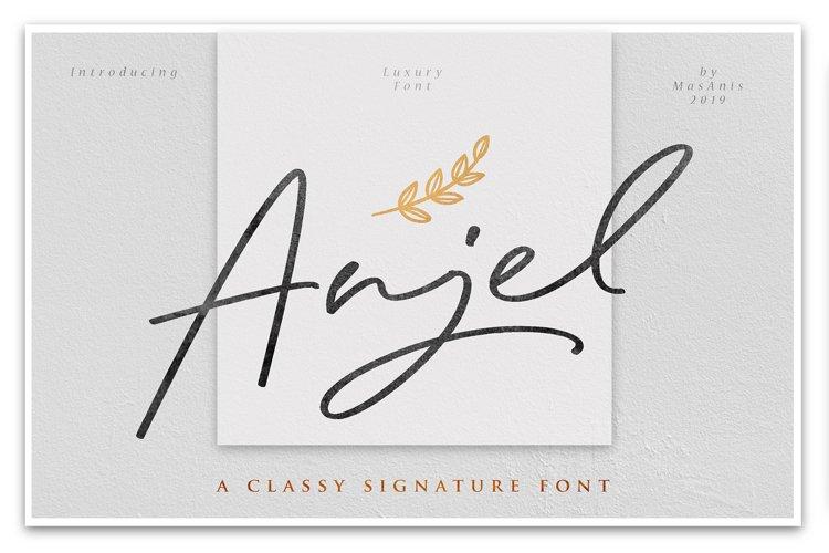 Anjel // Classy Signature example image 1