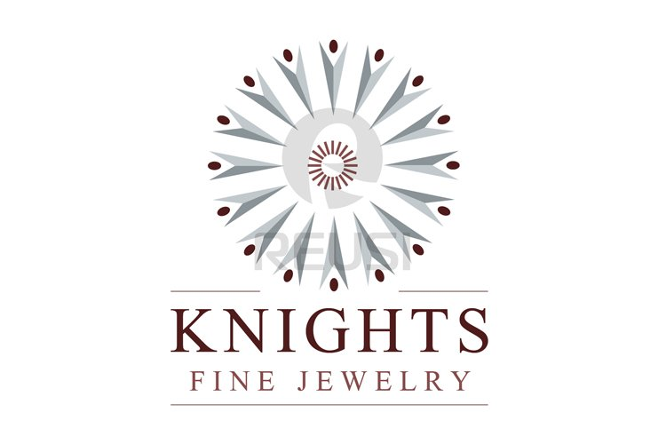 Knights Fine Jewelry Logo Template example image 1