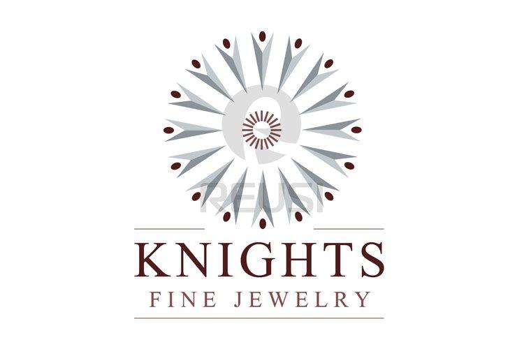 Knights Fine Jewelry Logo Template