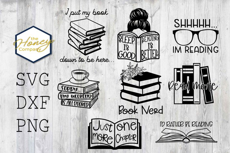 school svg Boy Personal and Small Business Use Let/'s Read Together Clipart and SVG File Library svg book svg SVG Reading svg