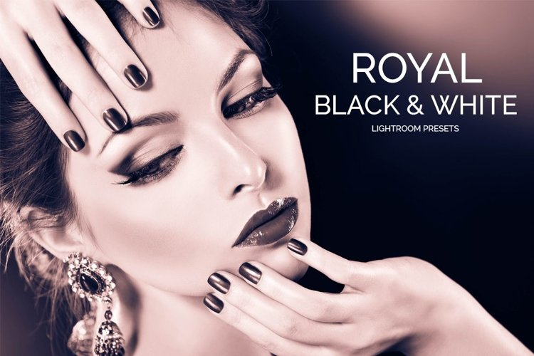Royal Black&White Lightroom Presets example image 1