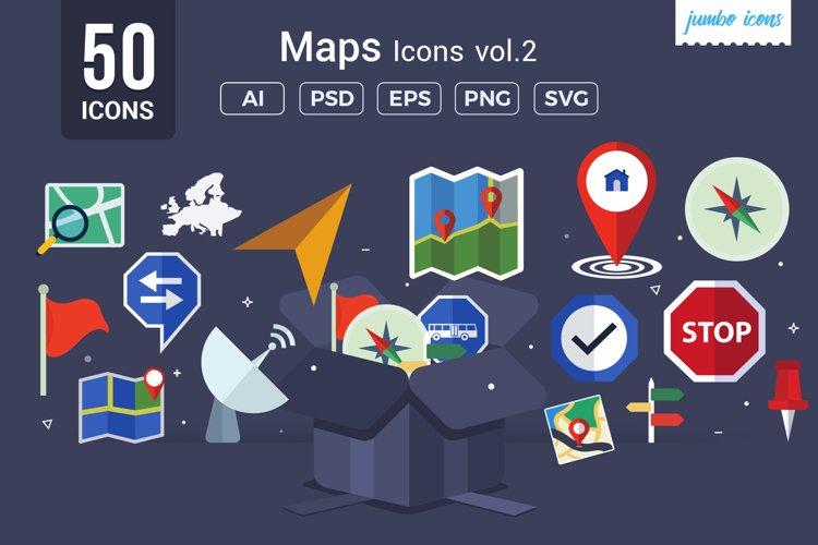 Maps / Navigation Vector Icons V2