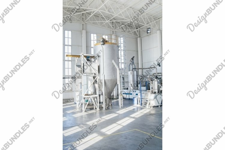 Factory for the production of PET plastic granules example image 1