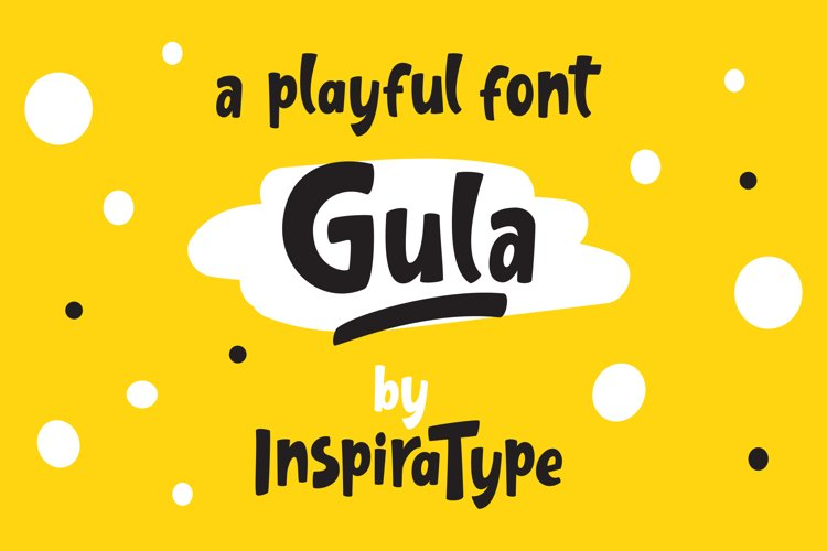 Gula - Playful Font example image 1