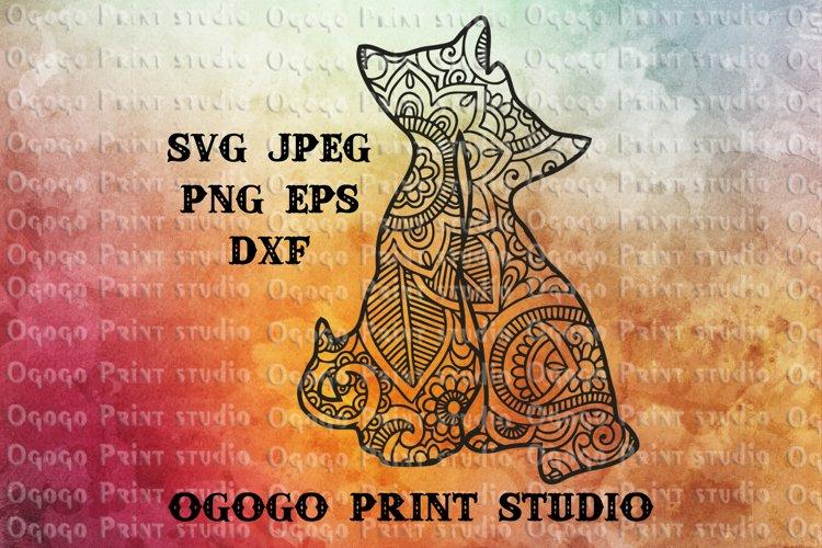 Cats SVG, Mandala svg, Zentangle SVG, Pet lover svg, Love